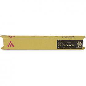 理光(Ricoh)MPC6003C 红色碳粉盒 22500页打印量 适用于 MPC4503SP/5503SP/6003SP/4504SP/6004SP